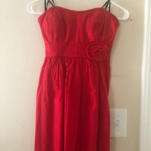 City triangles red cocktail dress. Size 5